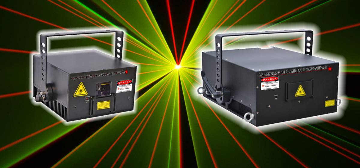 LuminanceRGB Laser Light Show Systems