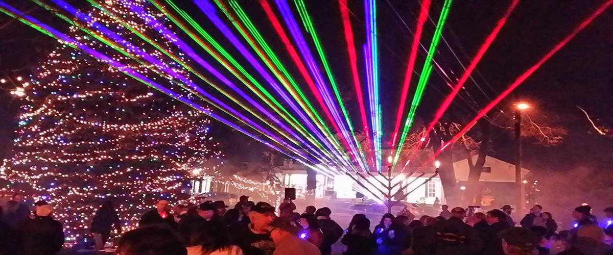 Holiday Laser Light Shows